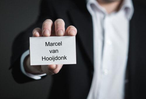 De man achter de ondernemer | Marcel van Hooijdonk
